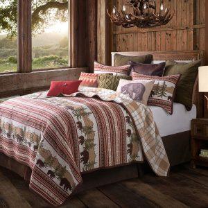Bear Trail King Quilt Set