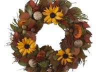 Dried Wildlfowers Rustic Wreath