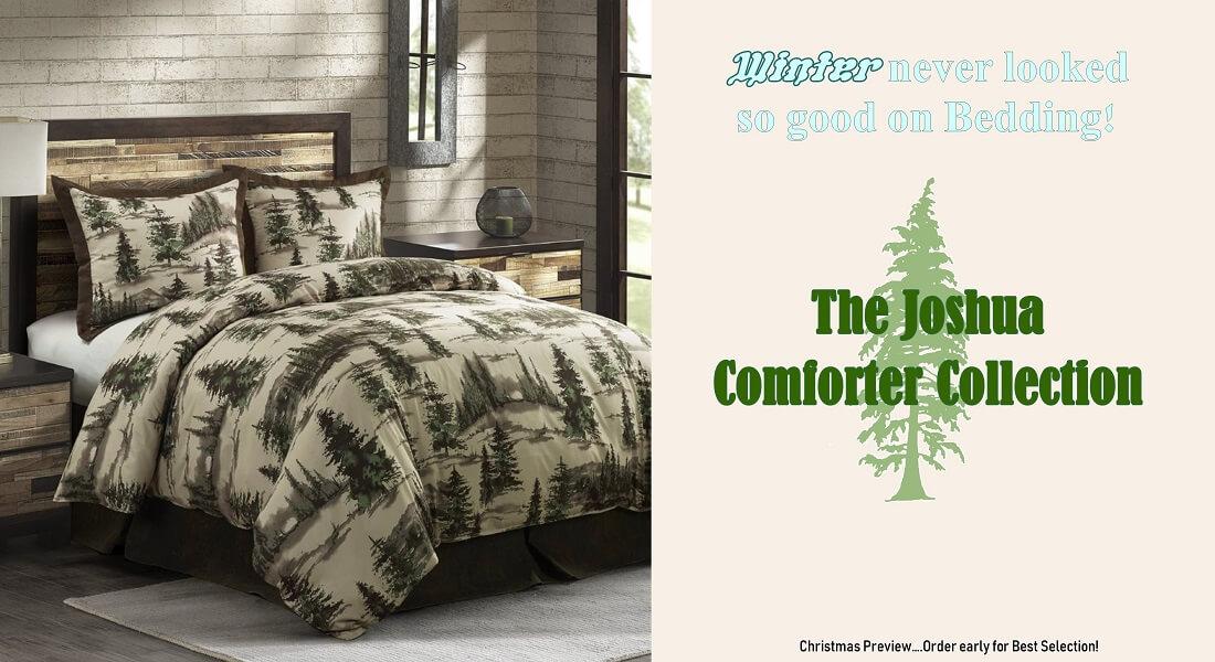 Joshua Comforter Collection Preview