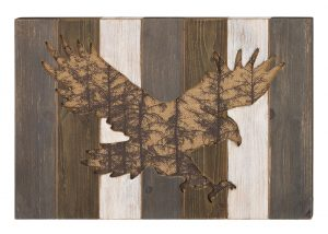 Eagle Wood Wall Decor