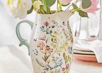 Wildflower Meadow Ceramic Pitcher