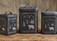 Black Bear Canister Set