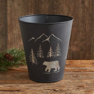 Black Bear Waste Basket