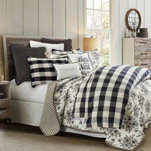 Camille Buffalo Plaid Queen Comforter Set