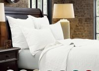 Linen Diamond Quilt Sets