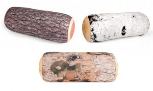 Rustic Log Pillow Collection