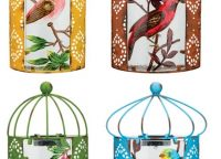 Solar Bird Lighted Wall Sconces