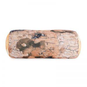 Rustic White Birch Log Bolster Pillow