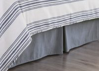 Tailored Chambray Bed Skirt