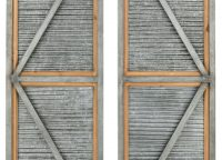 Weathered Farmhouse Metal Shutters
