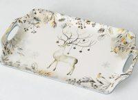 Arctic Sky Deer Platter