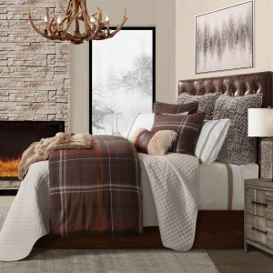 Jackson Plaid Comforter Set