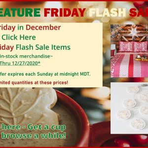 Feature Friday Flash Sale